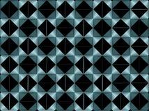 Абстрактный aqua геометрического дизайна/cyan цвета бесплатная иллюстрация