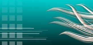 абстрактный aqua Стоковая Фотография