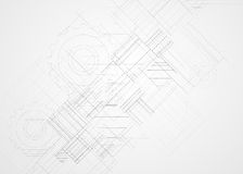 Абстрактный bac дела технологии куба компьютера цепи структуры Стоковые Фото