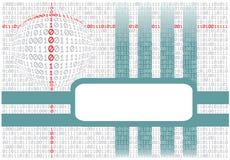 абстрактный binary предпосылки Стоковое фото RF