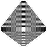 Абстрактный checkered геометрический элемент, структура на белизне иллюстрация штока
