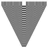 Абстрактный checkered геометрический элемент, структура на белизне бесплатная иллюстрация