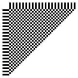 Абстрактный checkered геометрический элемент, структура на белизне иллюстрация вектора