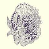 абстрактный doodle Стоковые Изображения