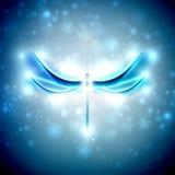 абстрактный dragonfly Стоковая Фотография