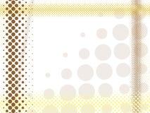 абстрактный halftone предпосылки Стоковые Изображения RF