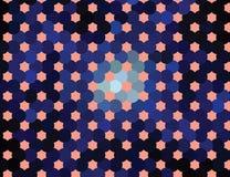 абстрактный halftone предпосылки ART зажима вектора Стоковая Фотография RF