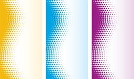 абстрактный halftone предпосылок иллюстрация вектора