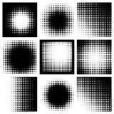 абстрактный halftone Стоковое Изображение RF
