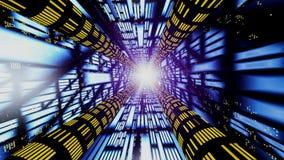 абстрактный high speed соединения Стоковое фото RF