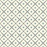 абстрактный minimalist предпосылки Простая современная печать с мини крестами и раскосными линиями геометрическая картина безшовн бесплатная иллюстрация