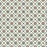 абстрактный minimalist предпосылки Простая современная печать с крестами Безшовная картина с геометрическими диаграммами иллюстрация штока