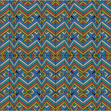 Абстрактный motley ломанной линии картины Стоковая Фотография RF