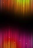 Абстрактный Multicolor плакат музыки Стоковые Фото