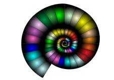 абстрактный nautilus Стоковая Фотография RF
