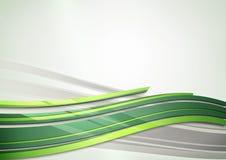 абстрактный shine зеленого цвета предпосылки Стоковое Фото