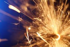 абстрактный sparkler Стоковое Фото