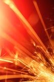 абстрактный sparkler стоковая фотография