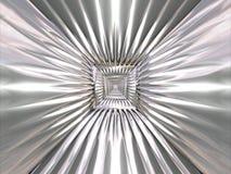 абстрактный tracery картины крома Стоковое Фото