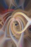 Абстрактный twirl предпосылки в multicolor иллюстрация штока