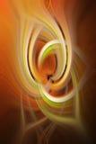 Абстрактный twirl предпосылки в multicolor иллюстрация вектора