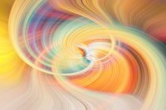 Абстрактный twirl предпосылки в multicolor бесплатная иллюстрация