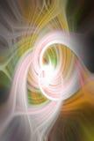 Абстрактный twirl предпосылки в multicolor стоковые изображения