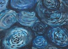 абстрактный watercolour картины предпосылки Стоковые Фотографии RF
