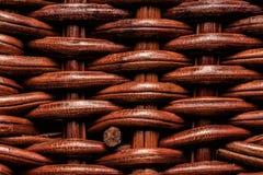 абстрактный wicker текстуры корзины предпосылки деревянный Стоковое фото RF