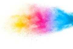 Абстрактными красочными предпосылка текстурированная частицками пыли стоковое фото