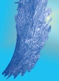 абстрактным вода предпосылки голубым текстурированная выплеском Стоковые Изображения