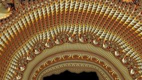 Абстрактным произведенный компьютером дизайн фрактали стоковое фото