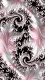 Абстрактным произведенный компьютером дизайн фрактали стоковая фотография rf