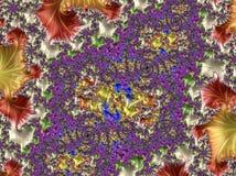 Абстрактным произведенный компьютером дизайн фрактали стоковые фотографии rf