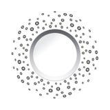 абстрактным современным предпосылка дела поставленная точки серебром иллюстрация вектора