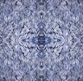 Абстракция акварели и соли Стоковая Фотография RF