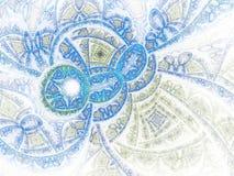 Абстракция волн воды фрактали Стоковая Фотография RF