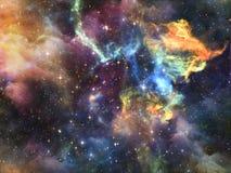 Абстракция вселенной Стоковые Изображения