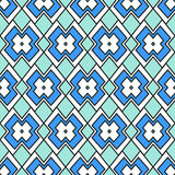 Абстракция в сини Стоковое Фото