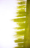 Абстракция зеленого цвета Стоковое Изображение RF