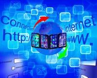 Абстракция 22.04.13 интернета Стоковая Фотография RF