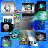 Абстракция компьютера Стоковые Изображения RF