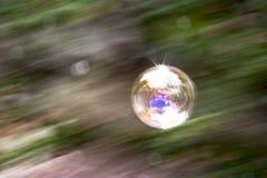 Абстракция лотка пузыря мыла Стоковое Изображение