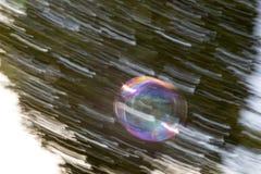 Абстракция лотка пузыря мыла Стоковое Фото