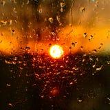 Абстракция на заходе солнца Стоковые Фотографии RF