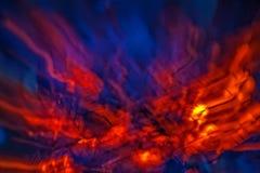Абстракция предпосылки огня Стоковые Фотографии RF