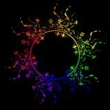 абстракция радуги 6-нашивки Стоковые Фотографии RF