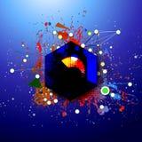 Абстракция современного искусства Стоковые Фотографии RF
