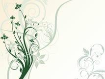 абстракция флористическая Стоковая Фотография RF