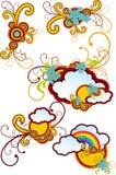 абстракция художническая Стоковая Фотография RF